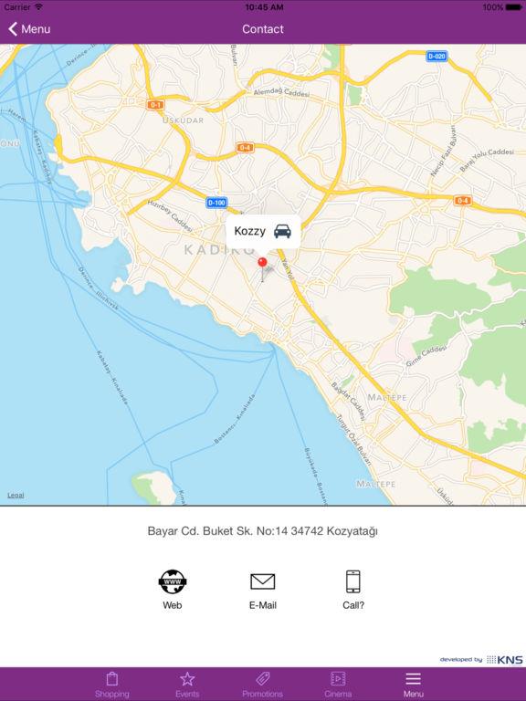 Screenshots for Kozzy Alışveriş ve Kültür Merkezi