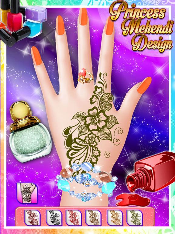 App Shopper Princess Mehndi Designs Nail Art Salon Girls
