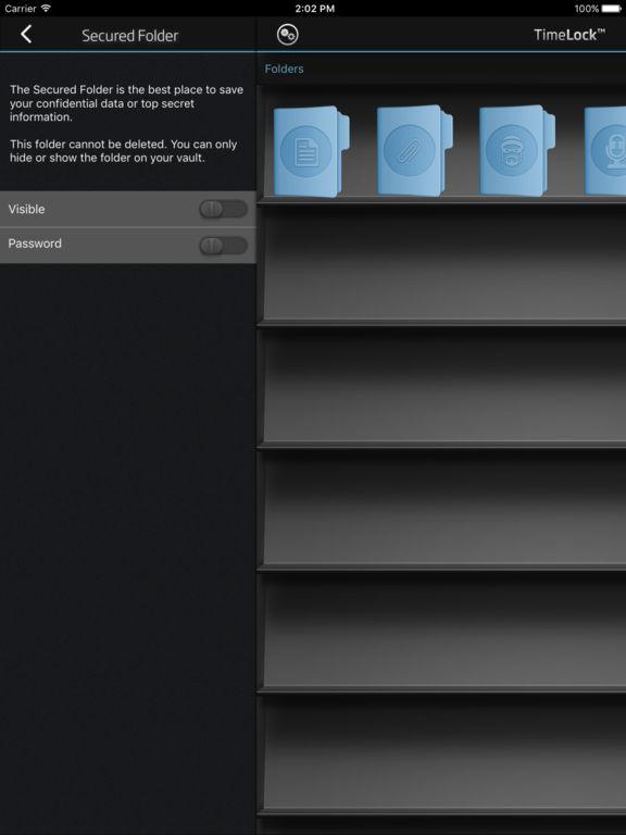 TimeLock Pro: Secret Encrypted Safe Screenshots