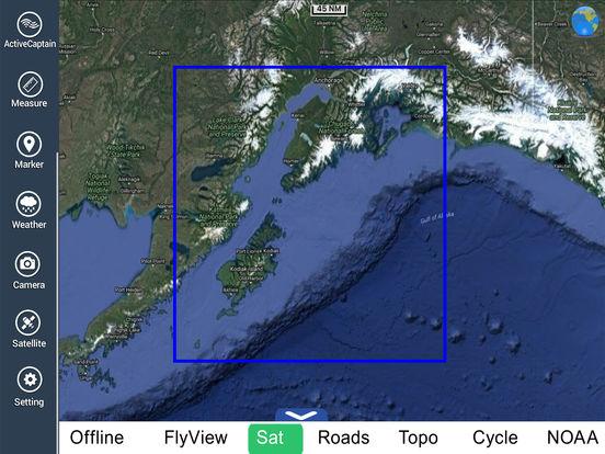 Marine: Alaska South West HD iPad Screenshot 5