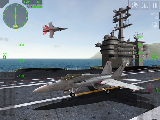 F18 Carrier Landing Screenshots