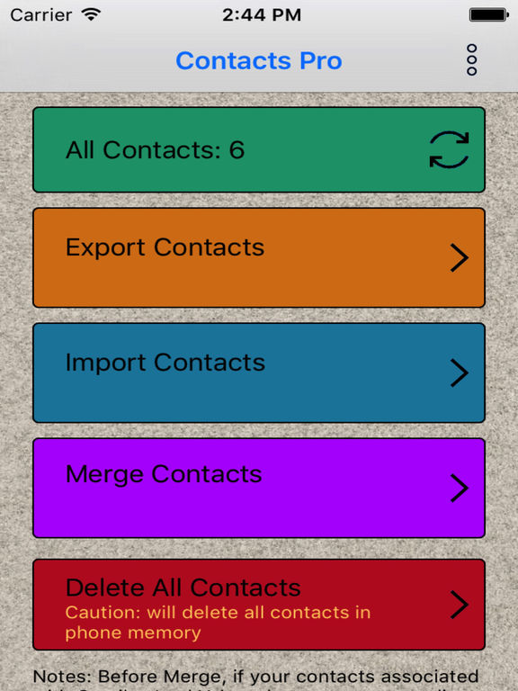Contacts Pro - Contacts Backup Screenshots