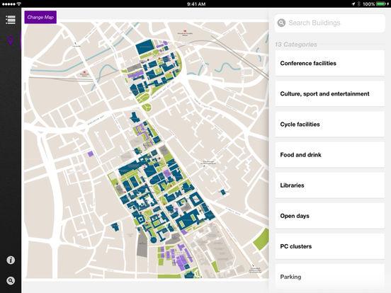iManchester iPad Screenshot 2