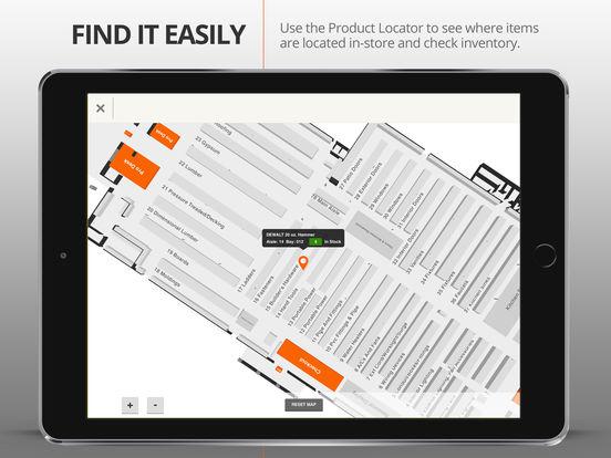 The Home Depot iPad Screenshot 5