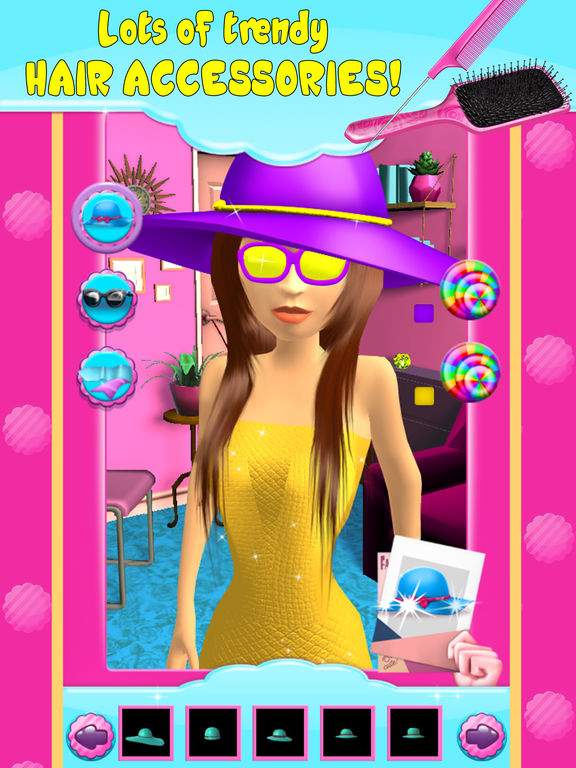 Virtual hair salon game hair salon makeover games 3d for 3d beauty salon games