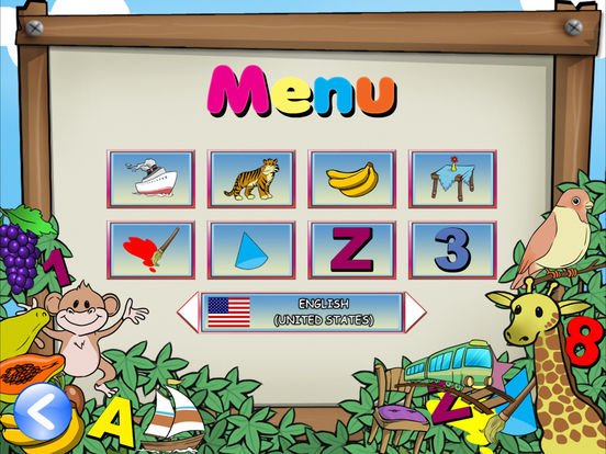 First App for Kid HD - English Indonesia iPad Screenshot 2