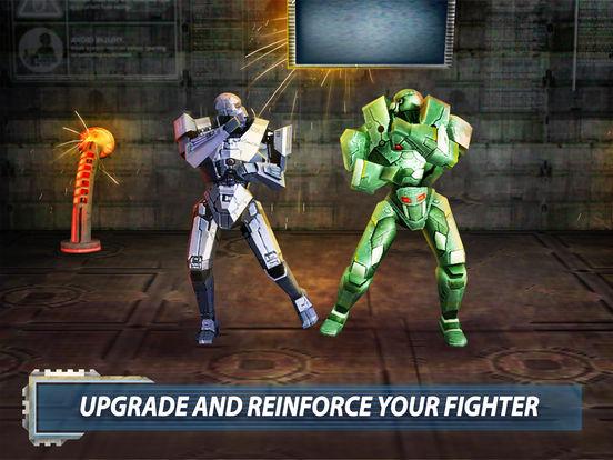 Robot Fighting — Iron War 3D Deluxe Screenshots