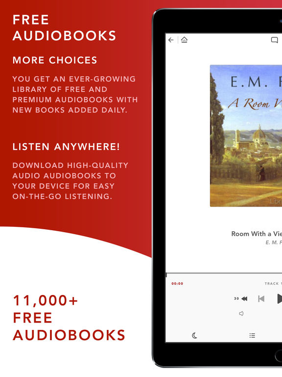 Audiobooks HQ – 11,500+ Free + Premium Audio Books Screenshots