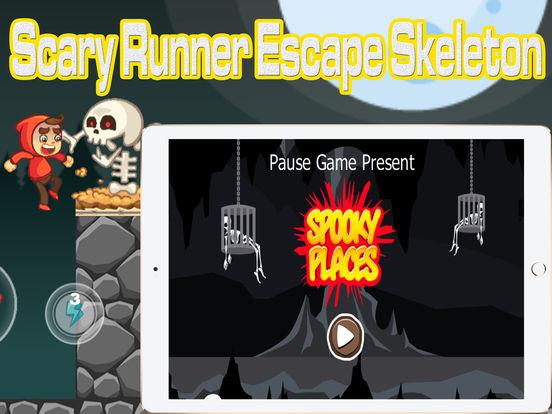 App shopper scary runner escape skeleton games - Scary skeleton games ...