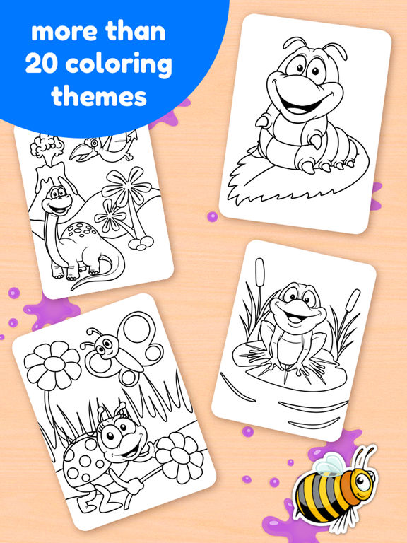 Doodle Coloring Book - Color & Draw (No Ads)screeshot 4