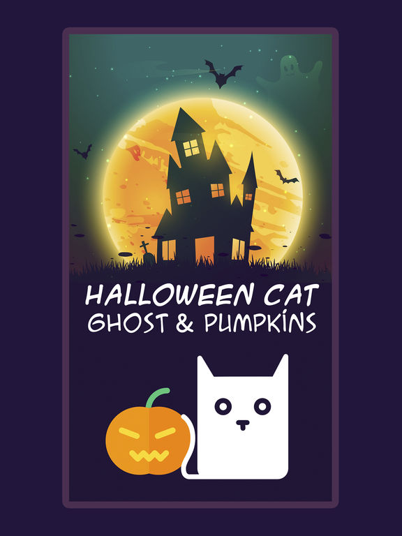 Indie Game With The Cat On Halloween Not Google