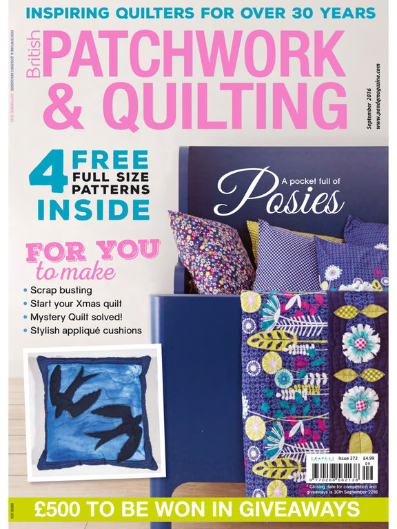 Patchwork and Quilting - The Worlds Best Patchwork and Quilting Magazine screenshot