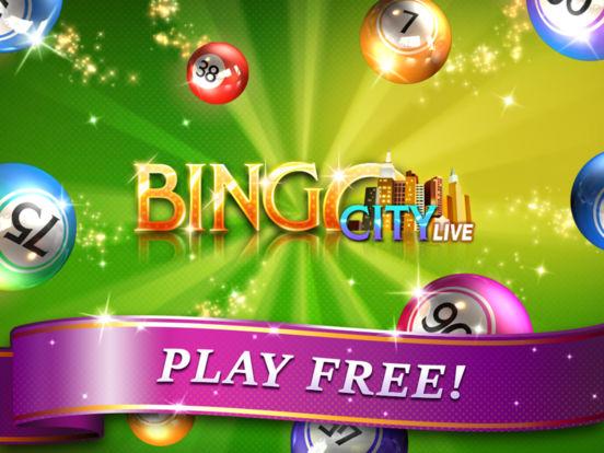 Bingo City Live 75 iPad Screenshot 5