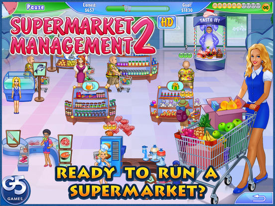 Supermarket Management 2 HD (Full) Screenshots