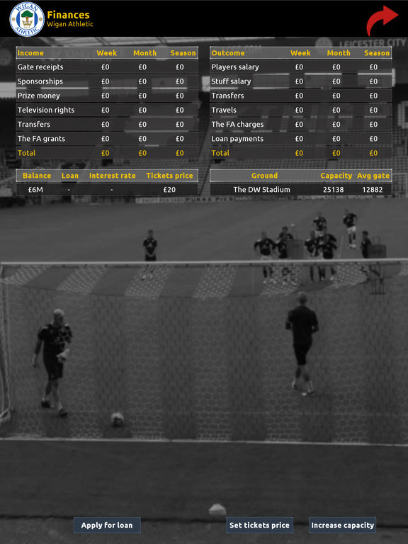 Association Football Manager Screenshots