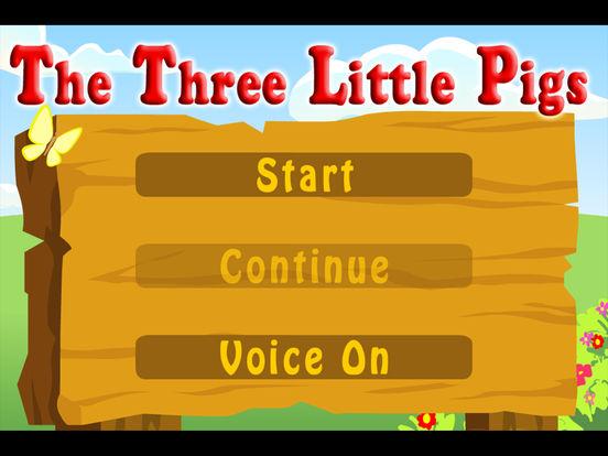 The Three Little Pigs (Kids Story Book) iPad Screenshot 5