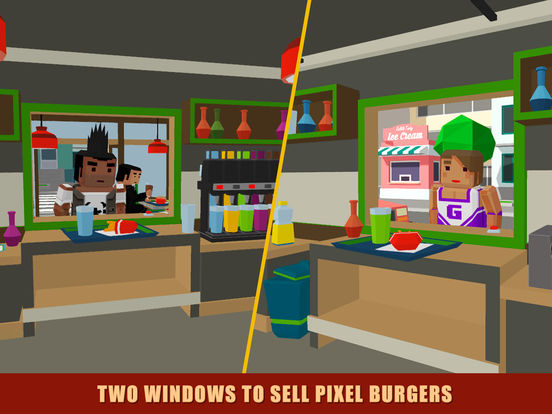App Shopper Pixel Burger Simulator 3d 2 Games