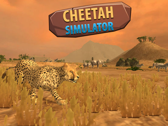 African Cheetah: Wild Animal Simulator 3D Full Screenshots