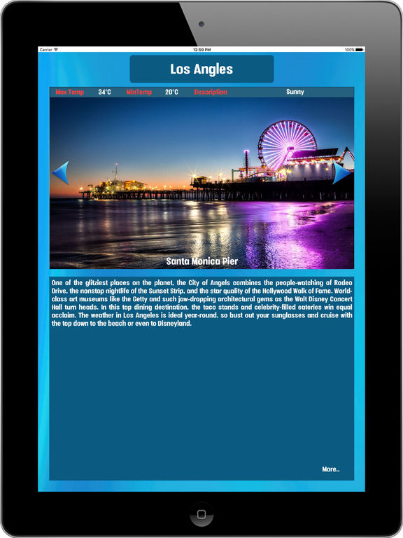 Los Angles USA, Tourist Attractions around City Screenshots