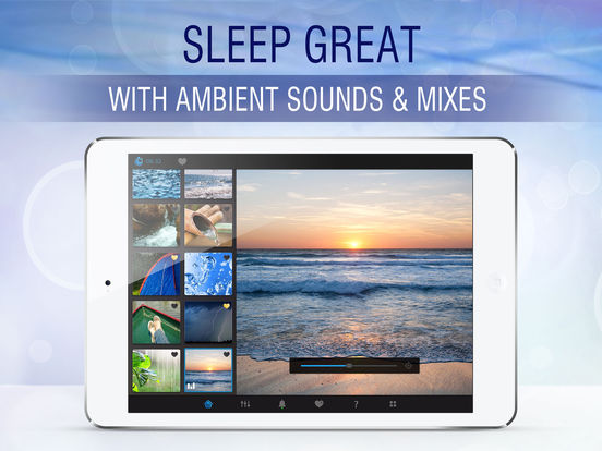 Sleep Pillow Sounds: white noise machine app screenshot