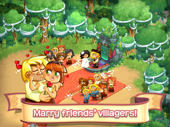 Screenshots of Village Life: Love, Marriage and Babies for iPad