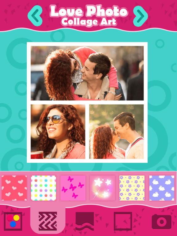 photo editor collage love