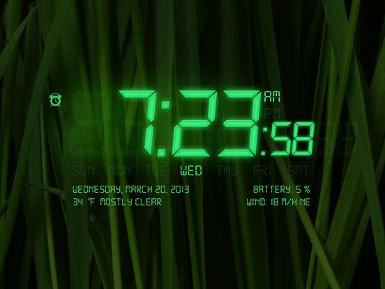 Alarm Clock 4 Free iPad Screenshot 4