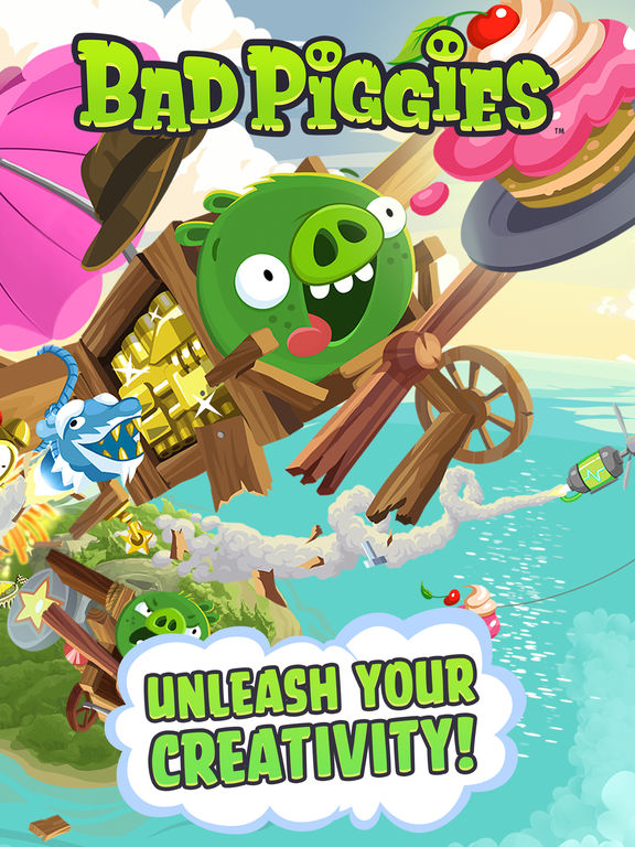 Screenshot #1 for Bad Piggies HD