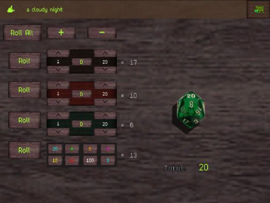 Tartle RPG Tool Screenshots