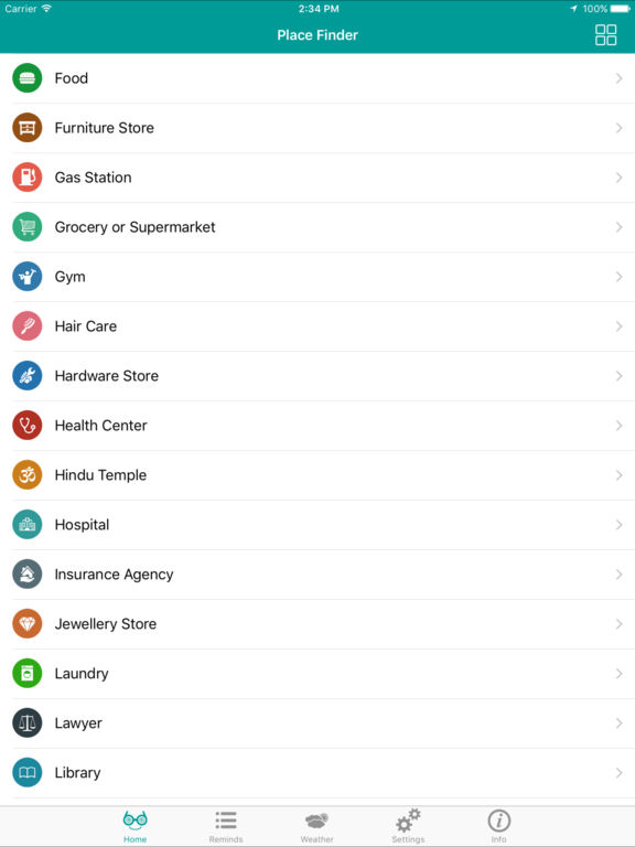 Place Finder - Search Places Around Me PRO Screenshots