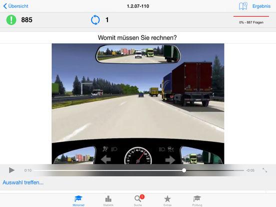 Motorradführerschein iPad Screenshot 3