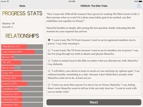 VERSUS: The Elite Trials Screenshots