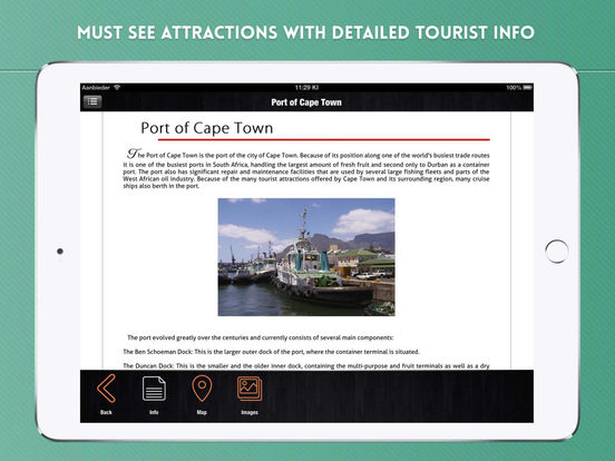Cape Town Travel Guide iPad Screenshot 3