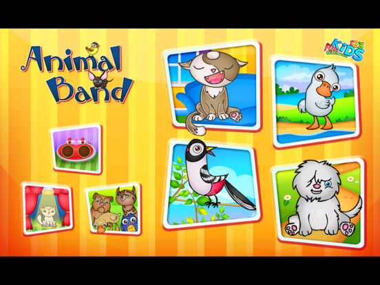 123 Kids Fun Animal Orchestra iPad Screenshot 5