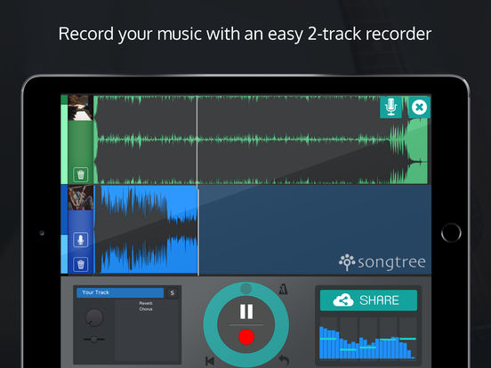 Songtree Recorder - Make Music and Jam Online screenshot