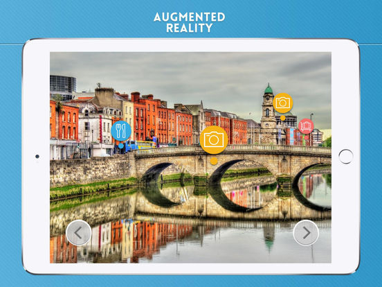 Dublin Travel Offline iPad Screenshot 2