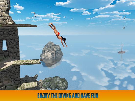 Cliff Flip Diving: Swimming Simulatorscreeshot 3