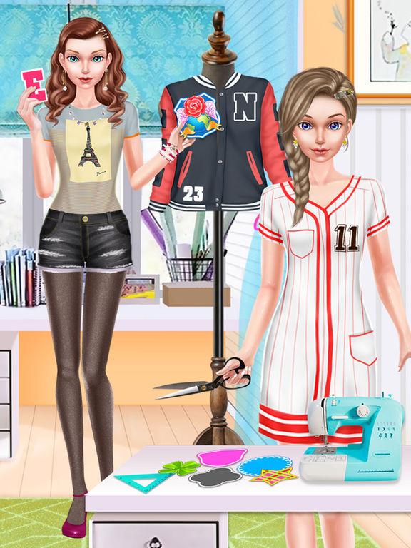 App Shopper Fashion Doll School Girl Style Games