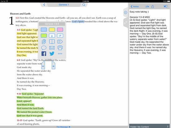 Message Bible iPad Screenshot 4