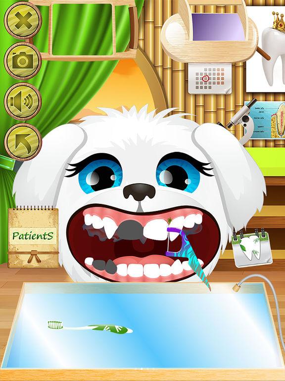 Animal Dentist - Little Baby Pet Doctor Kids Gamesscreeshot 1