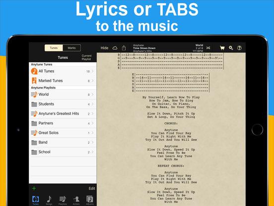 Anytune iPad Screenshot 4