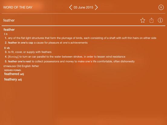 Collins Essential English Dictionary iPad Screenshot 4