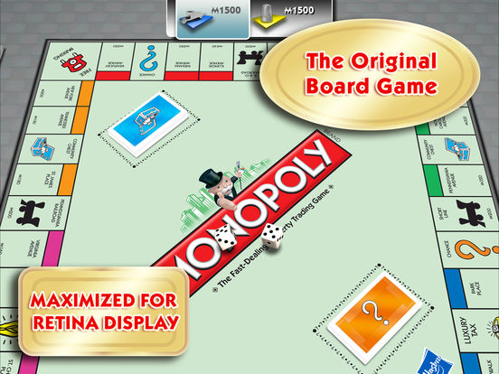 MONOPOLY for iPad iPad Screenshot 1