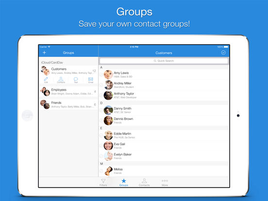 Screenshot #2 for Mail 2 Group - Quickly Email Your Contacts