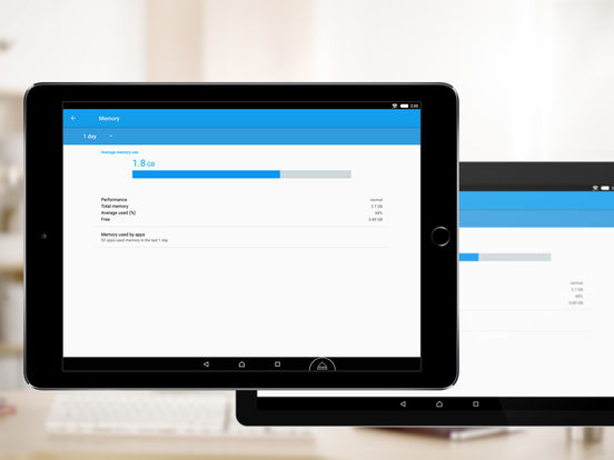 Screenshots of TeamViewer: Remote Control for iPad