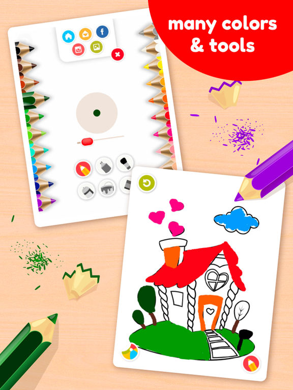 Doodle Coloring Book - Color & Draw (No Ads)screeshot 2