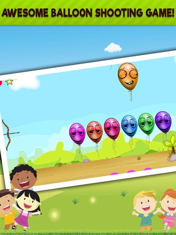 App shopper balloons smasher kids popping game free games for Free balloon games