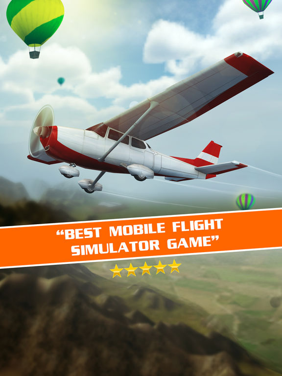 Flight Pilot Simulator 3D: Flying Game For Freescreeshot 2