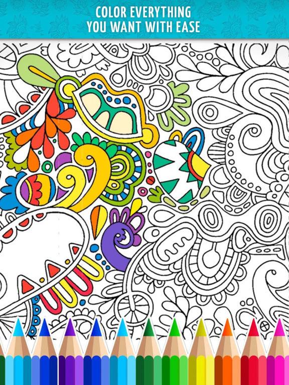 App Shopper Adult Coloring Book