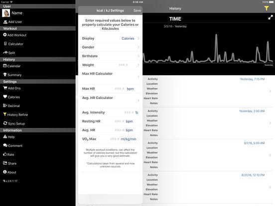 Swim Speeds iPad Screenshot 3